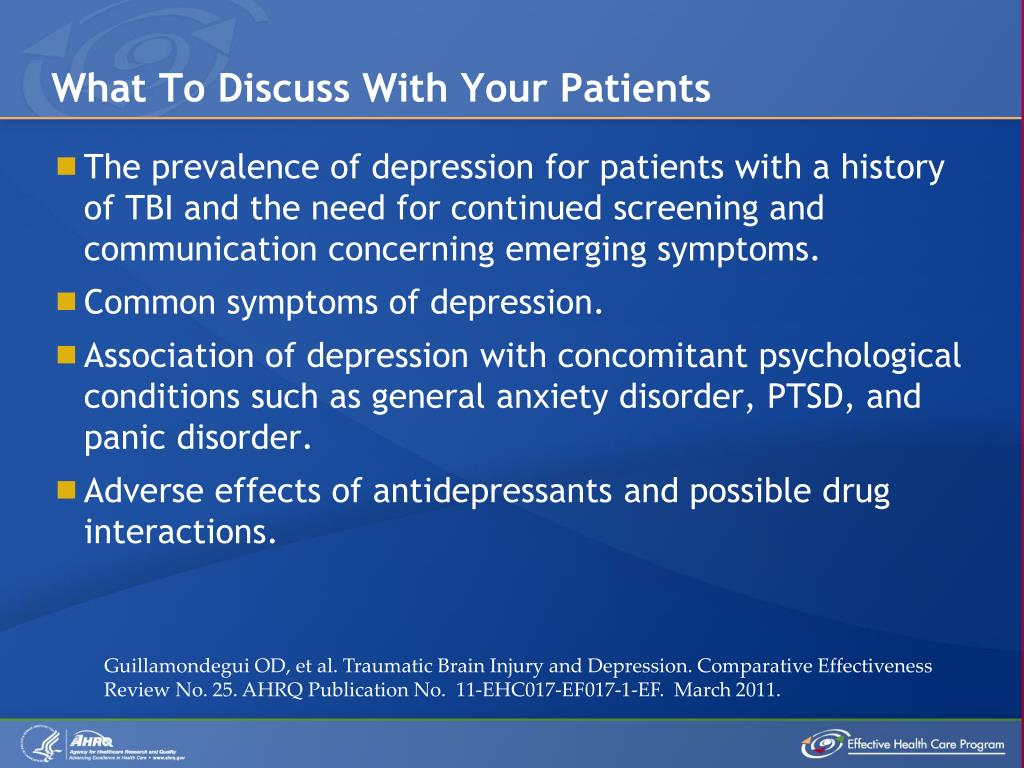 What To Discuss With Your Patients