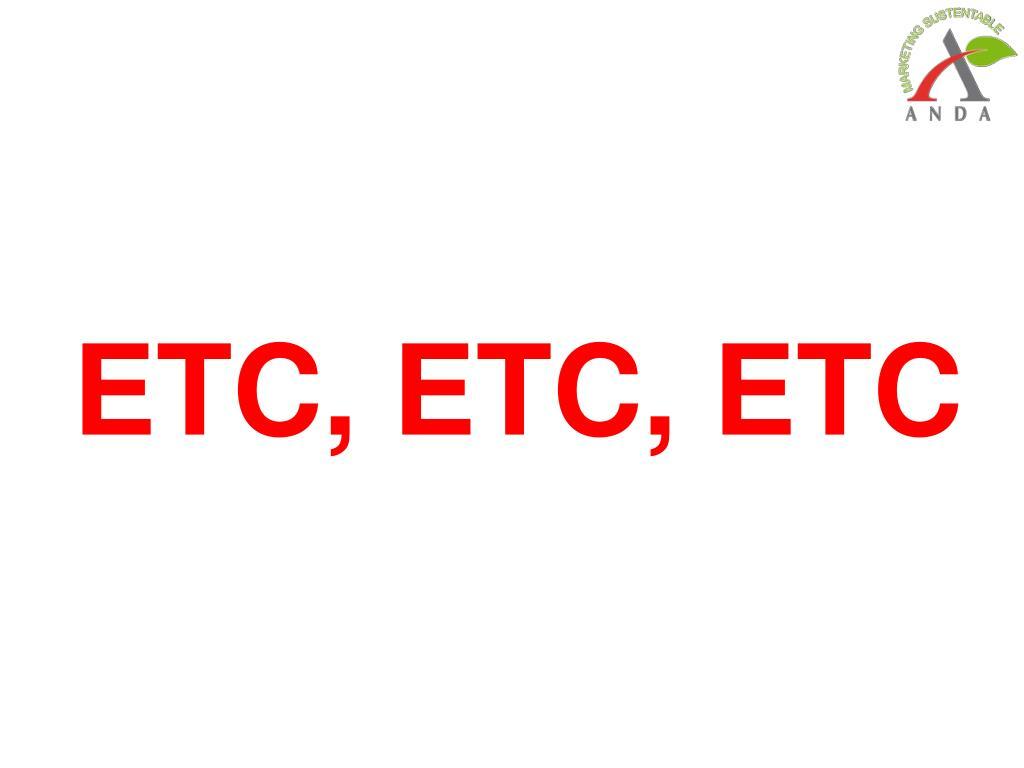 ETC, ETC, ETC