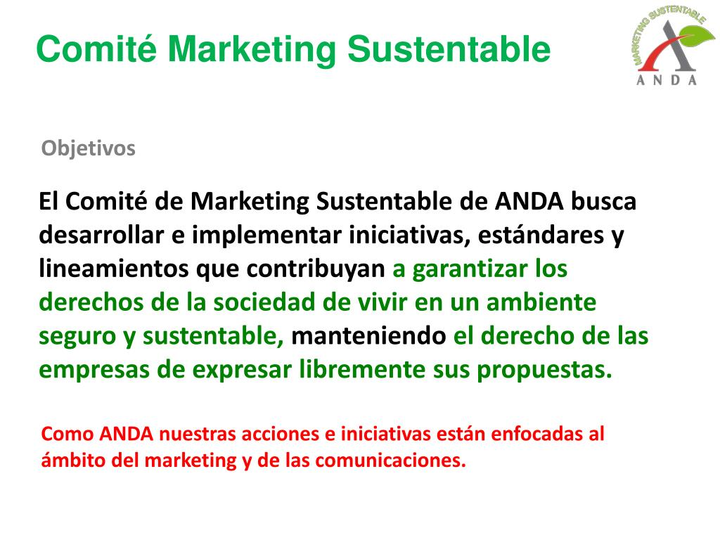Comité Marketing Sustentable