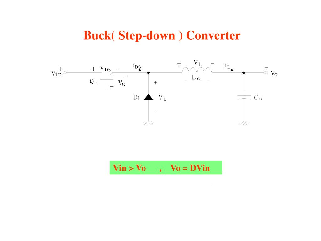 Buck( Step-down ) Converter