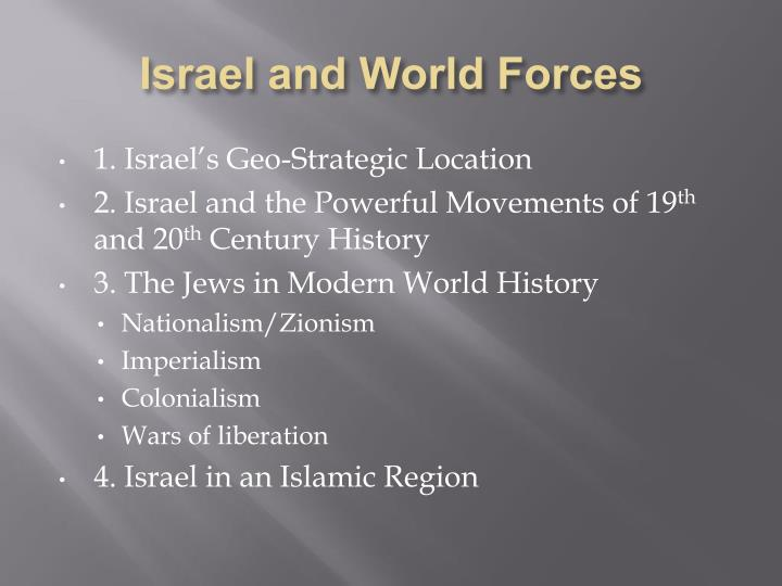 Israel and World Forces