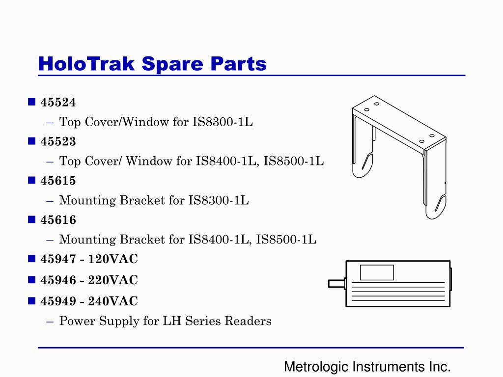 HoloTrak Spare Parts
