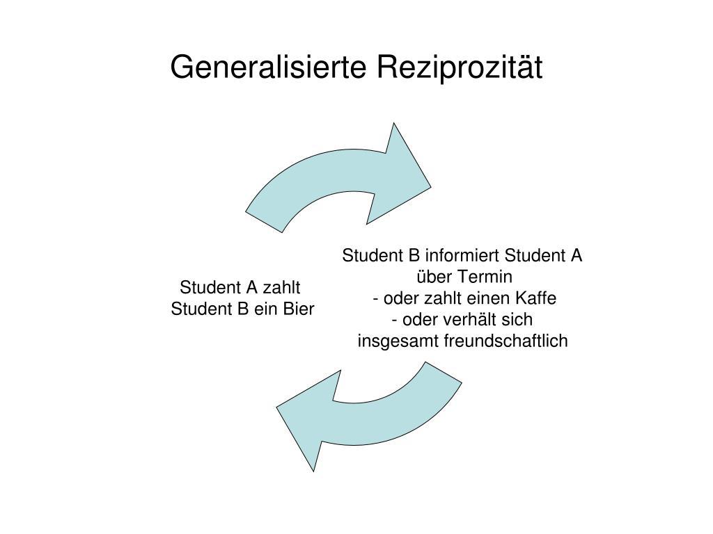 Generalisierte Reziprozität
