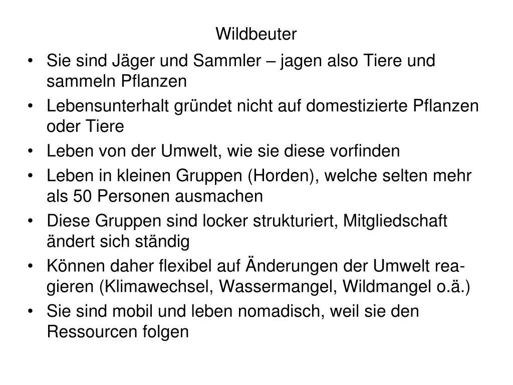 Wildbeuter