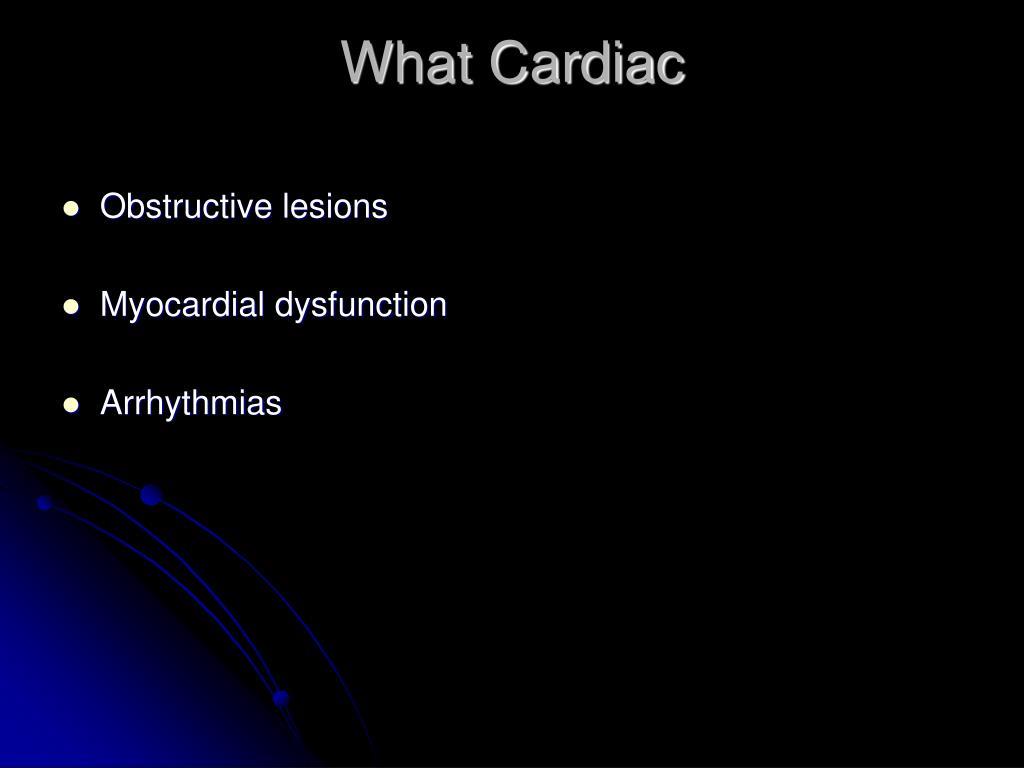 What Cardiac