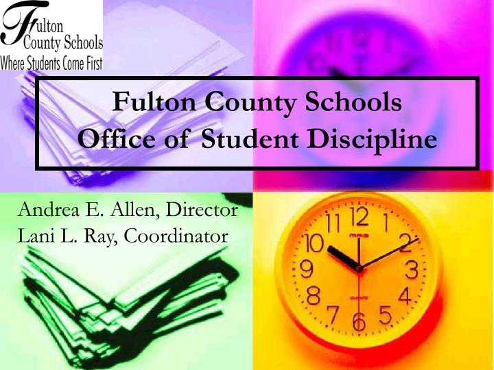 Fulton county schools office of student discipline