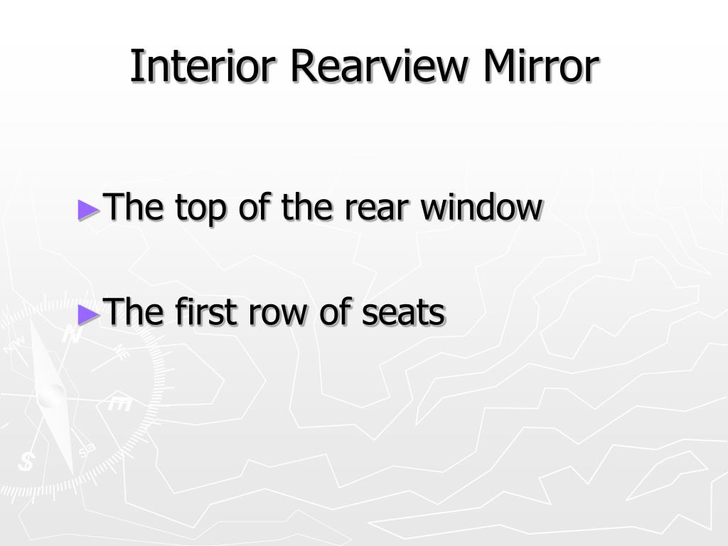 Interior Rearview Mirror