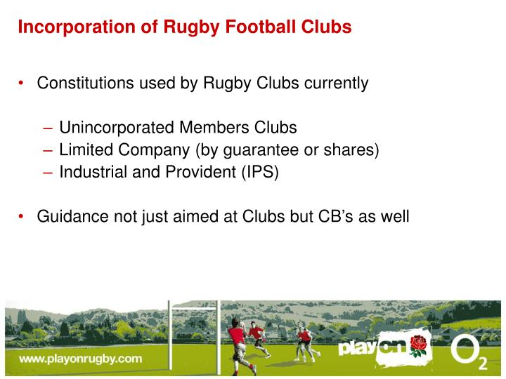 Incorporation of rugby football clubs l.jpg