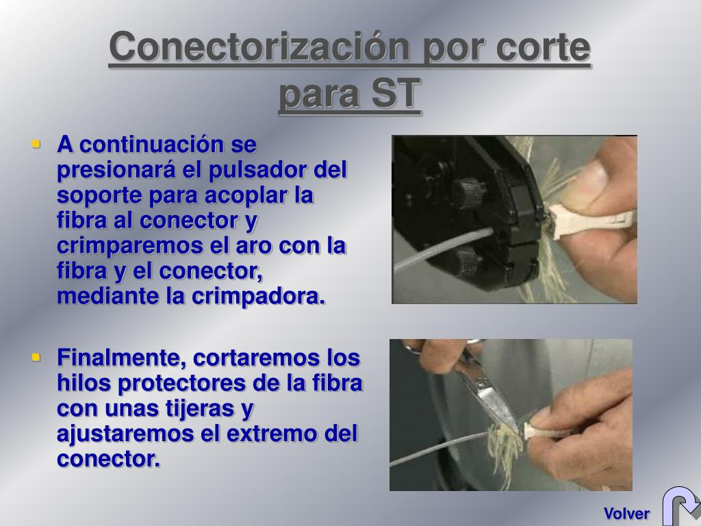 Conectorización por corte