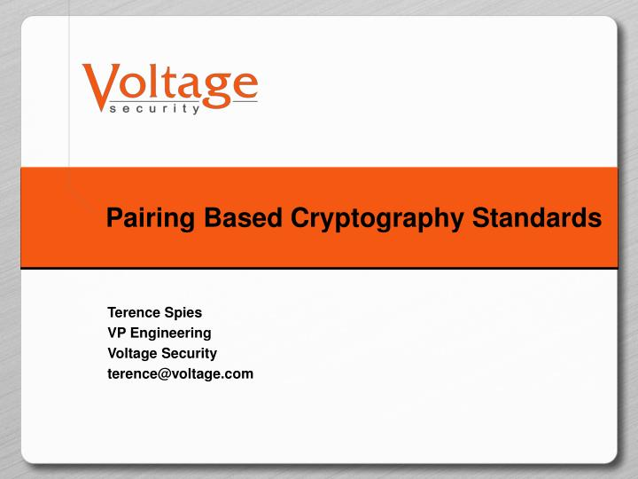Introduction to cryptology ppt presentation