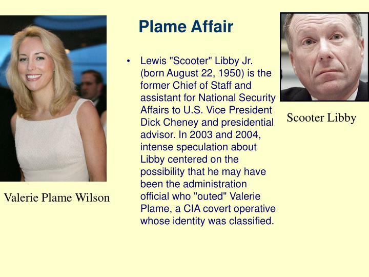 Plame Affair