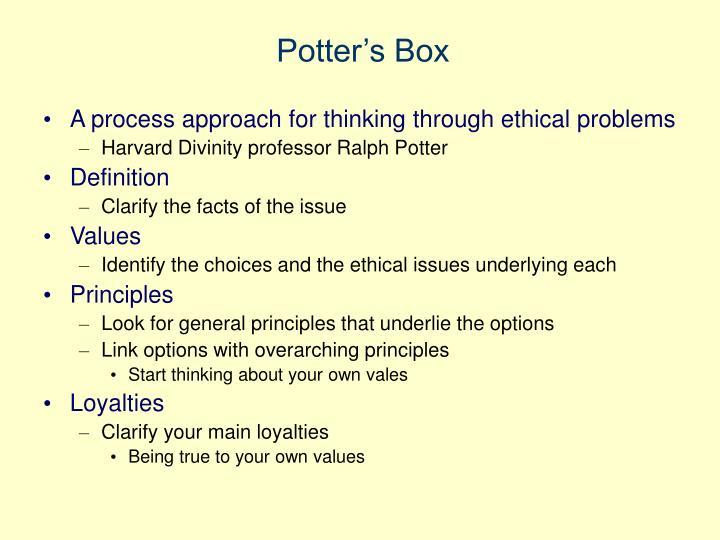 Potter's Box