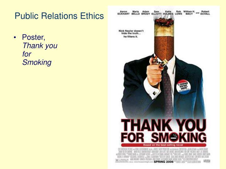 Public Relations Ethics