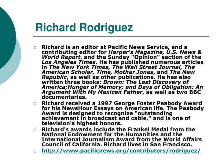 Richard rodriguez