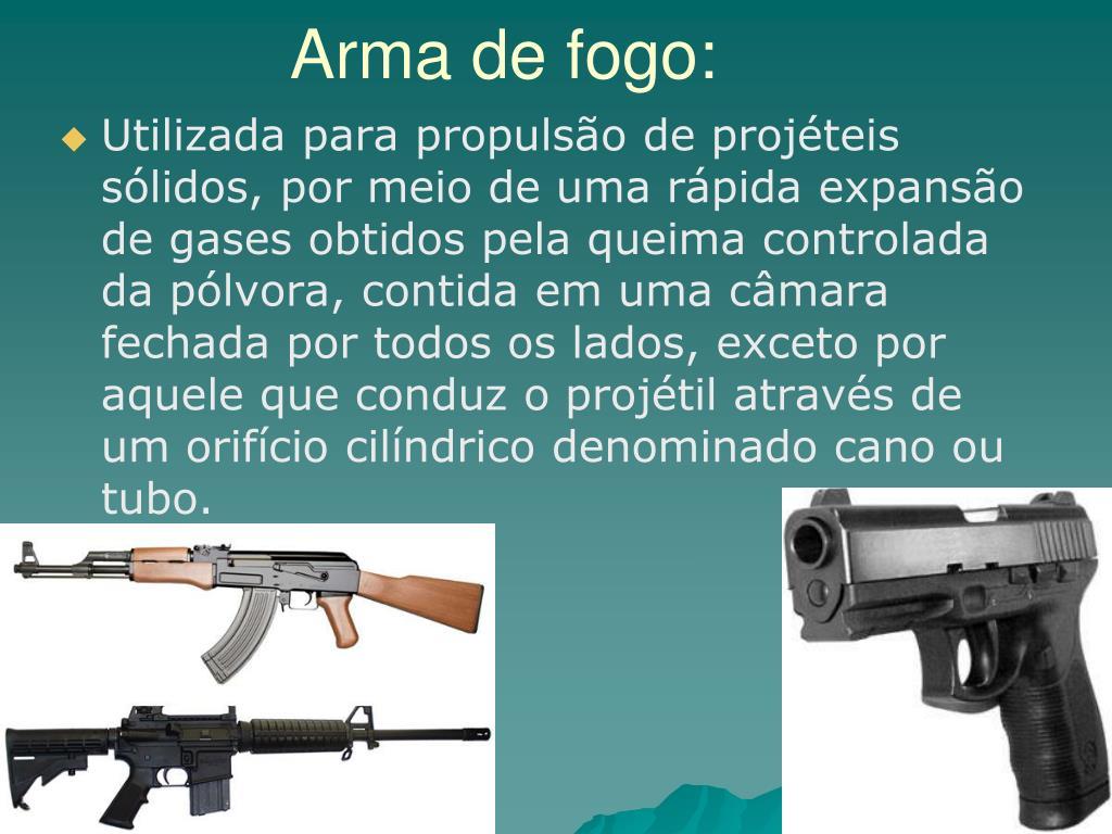 Arma de fogo: