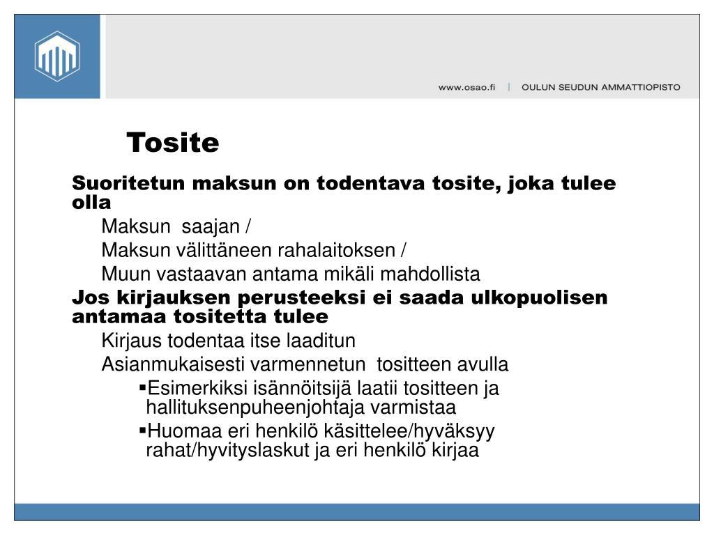 Tosite