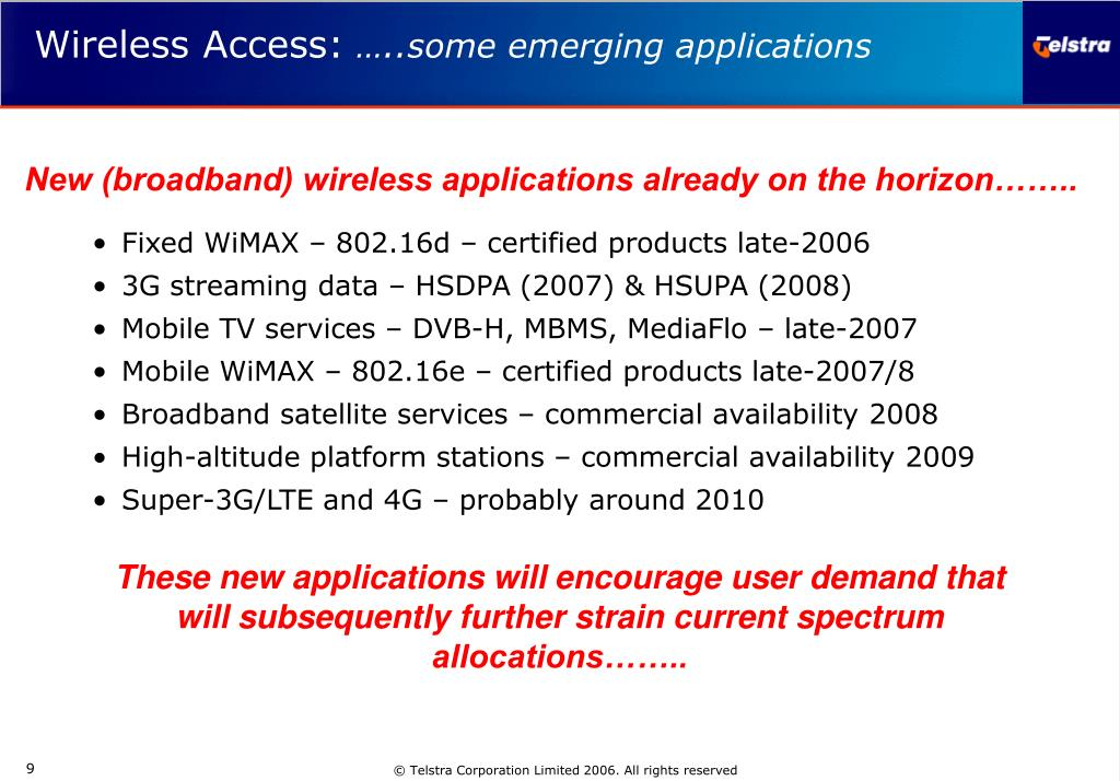 Fixed WiMAX – 802.16d – certified products late-2006