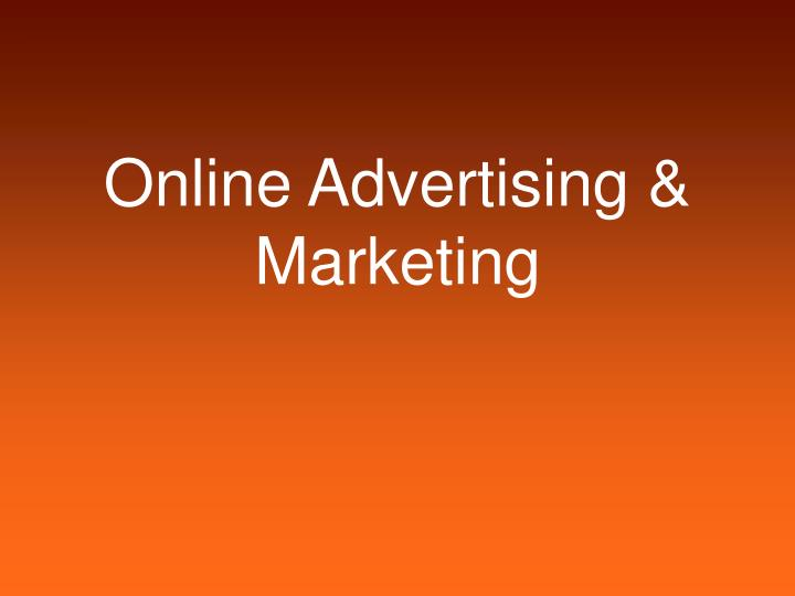 Online advertising marketing l.jpg