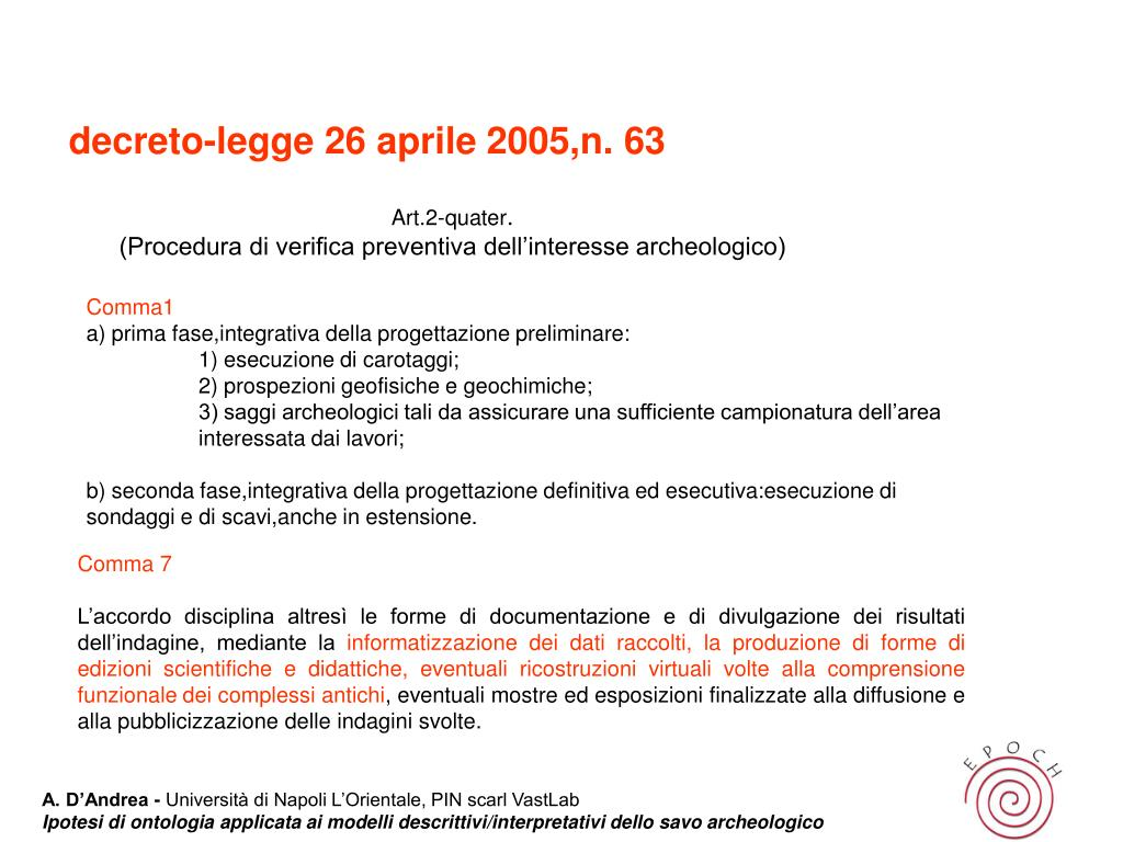 decreto-legge 26 aprile 2005,n. 63