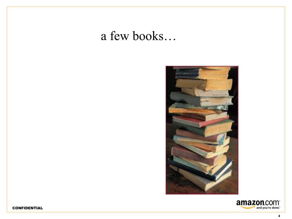 a few books…