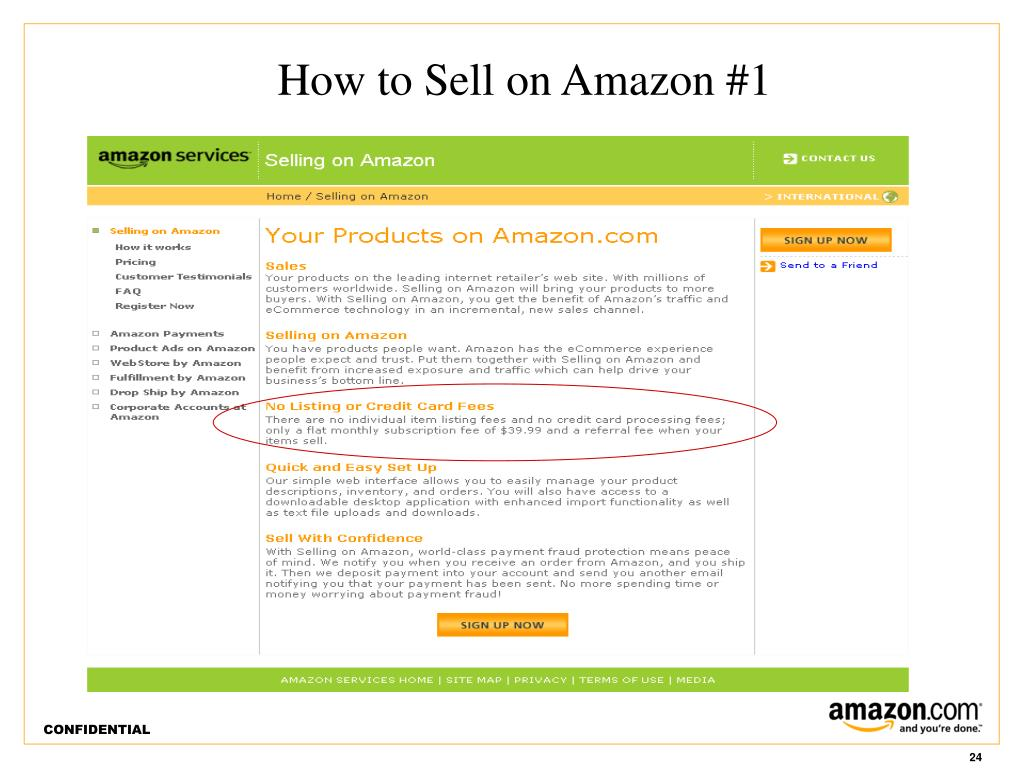 How to Sell on Amazon #1