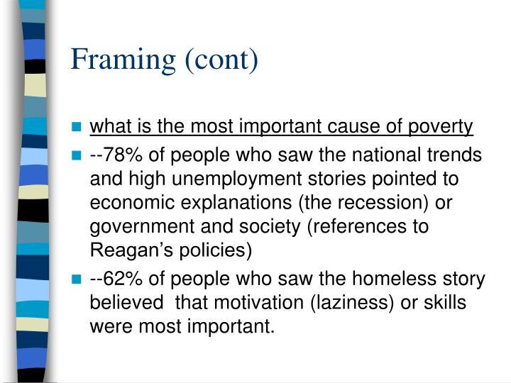 Framing (cont)