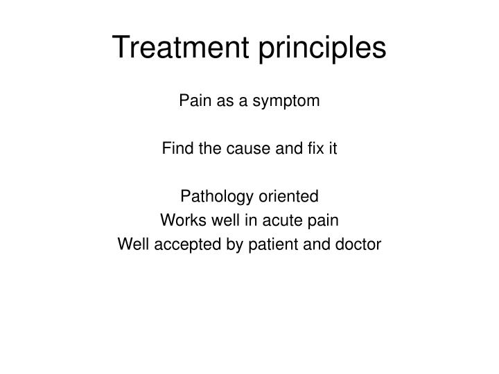 Treatment principles l.jpg