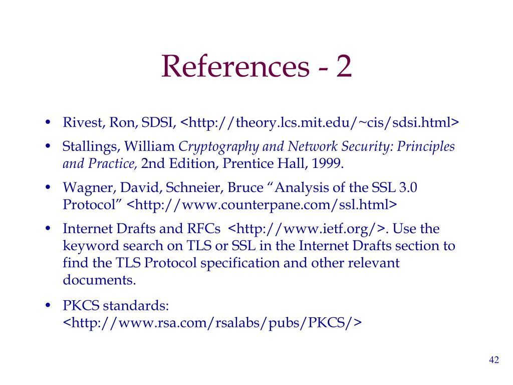References - 2