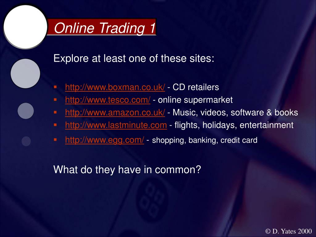 Online Trading 1