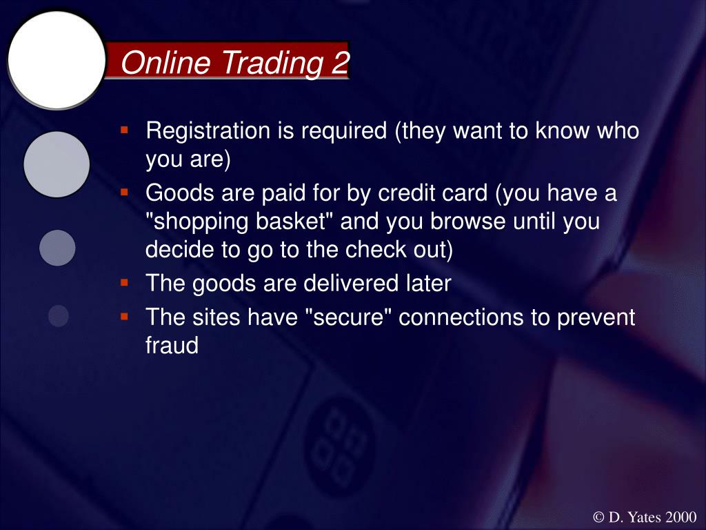 Online Trading 2