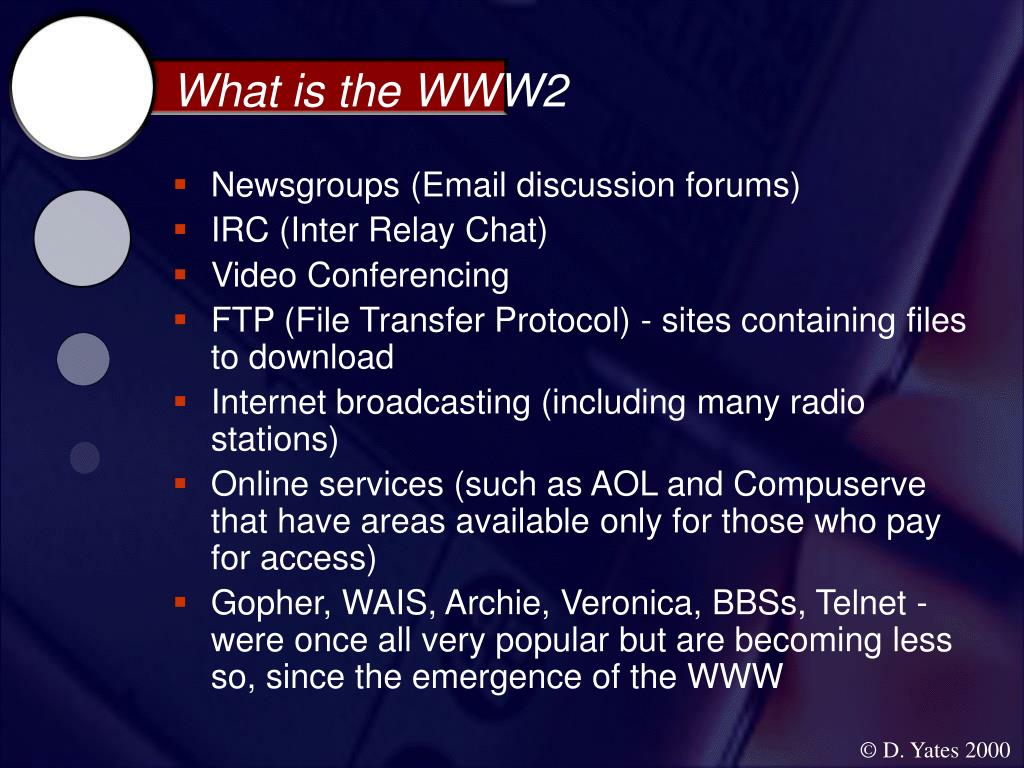 What is the WWW2