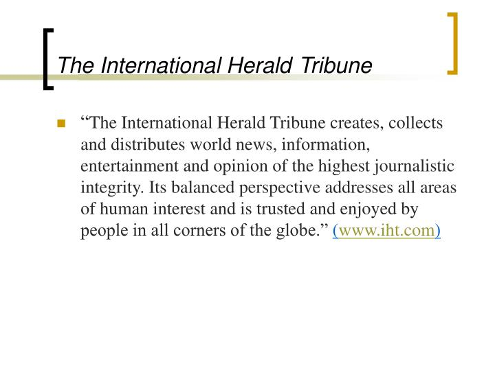 The International Herald