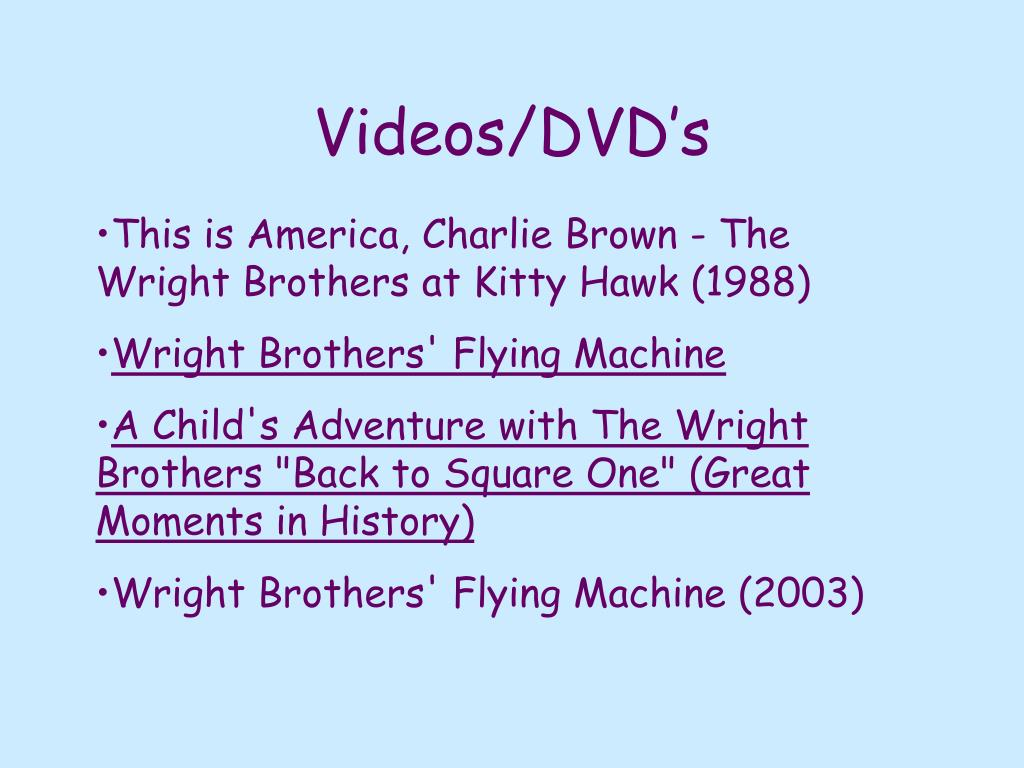 Videos/DVD's