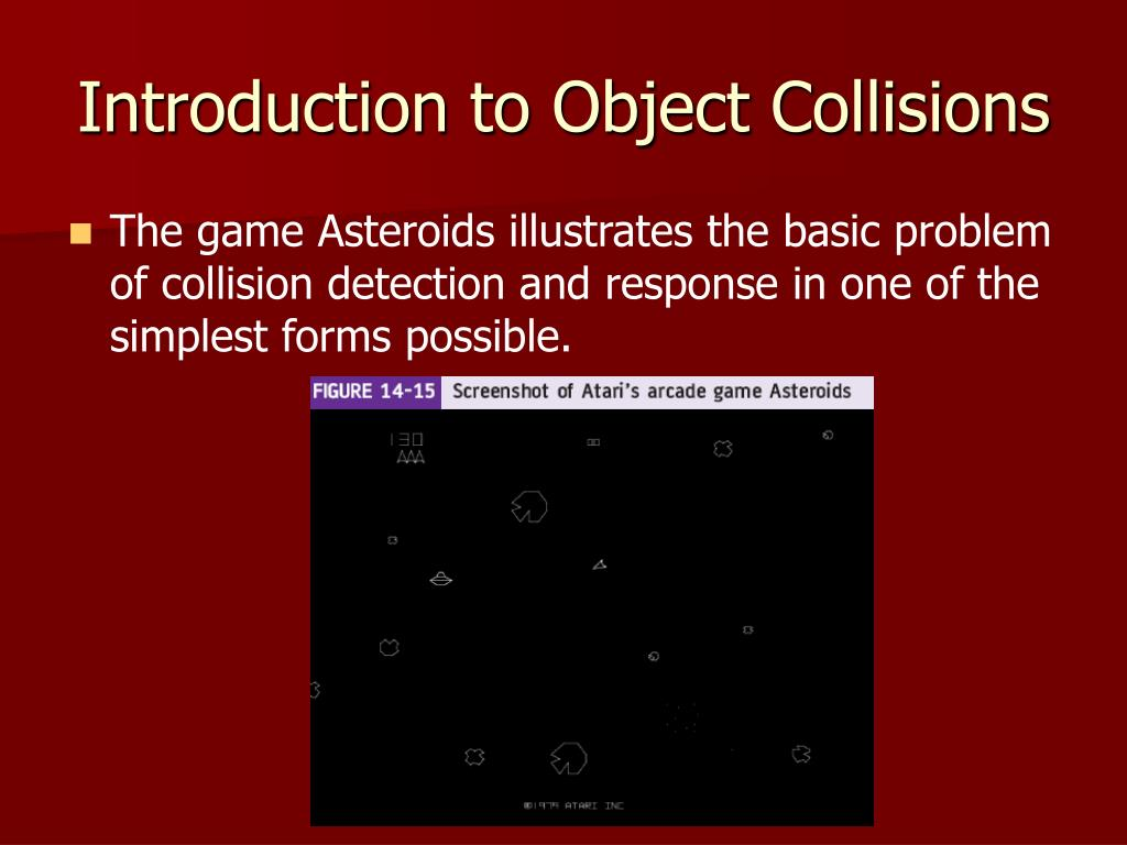 Introduction to Object Collisions