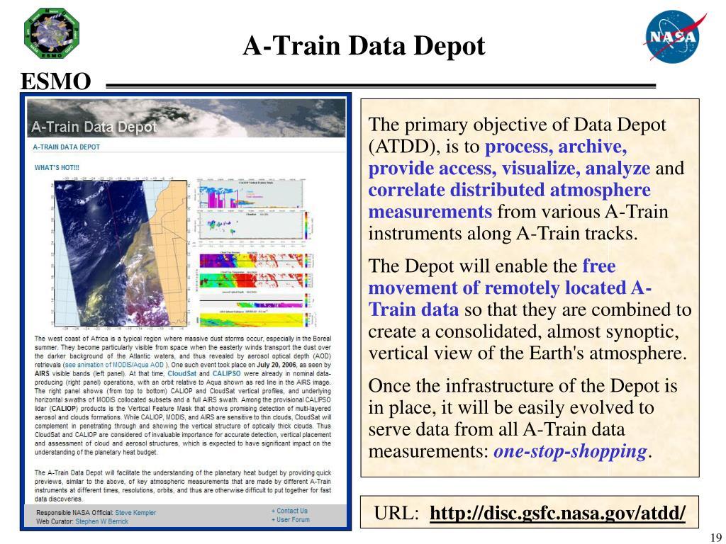 A-Train Data Depot