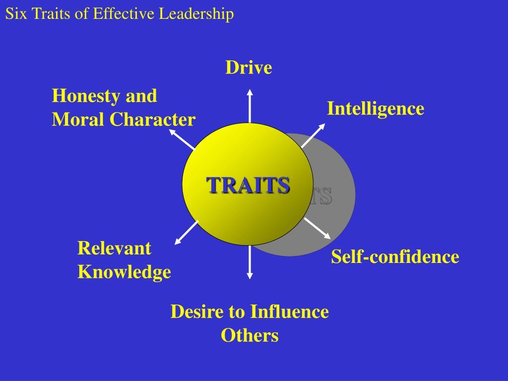 Six Traits of Effective Leadership
