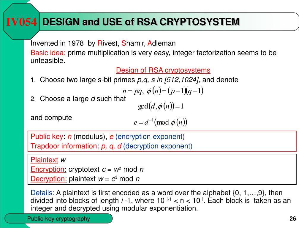 RSA-kryptosysteemi - Wikipedia, the free encyclopedia