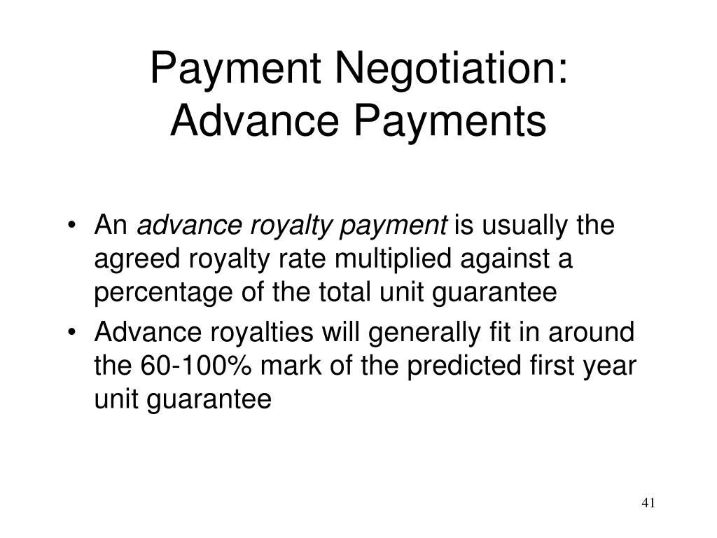 Payment Negotiation