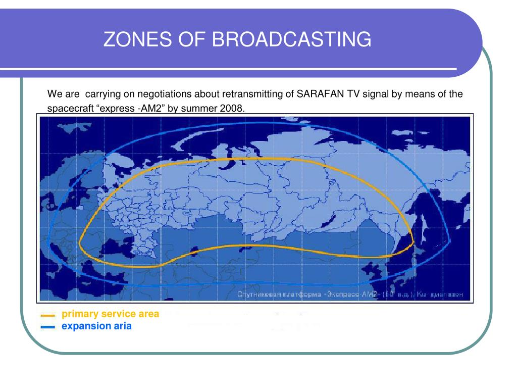 ZONES OF BROADCASTING