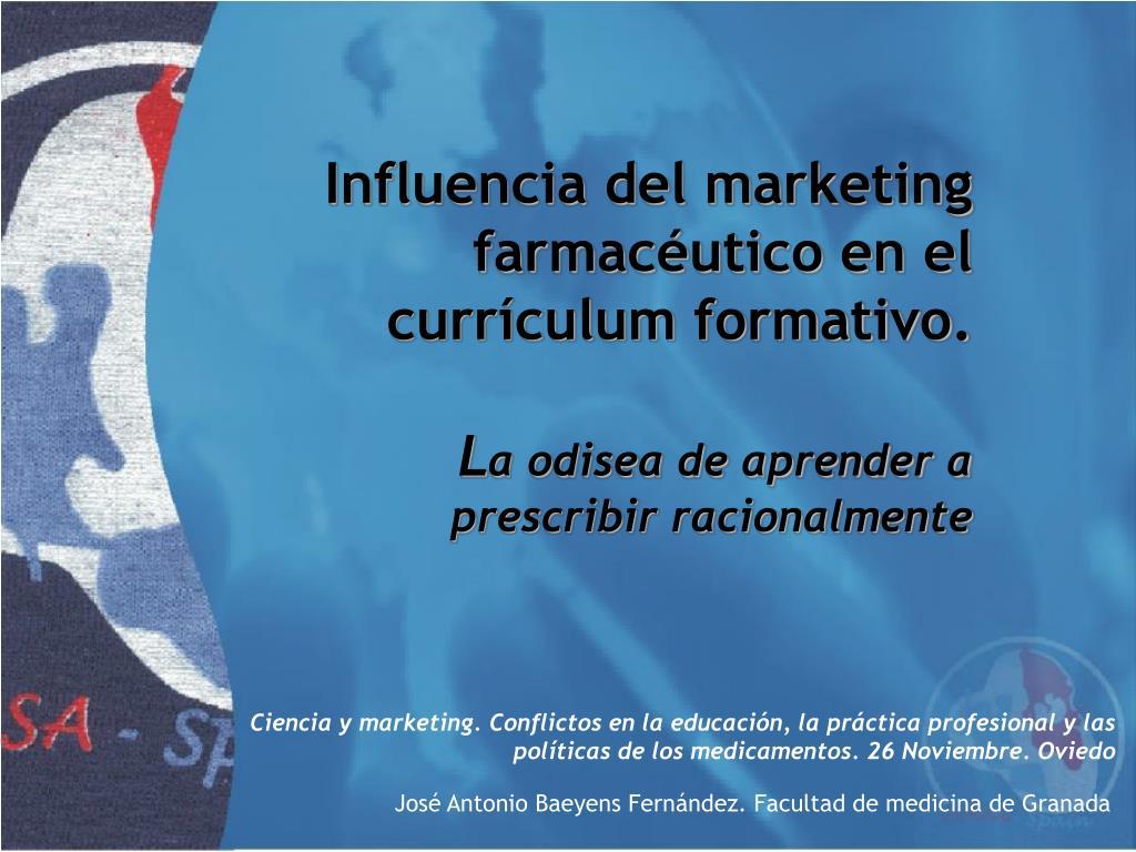 Influencia del marketing