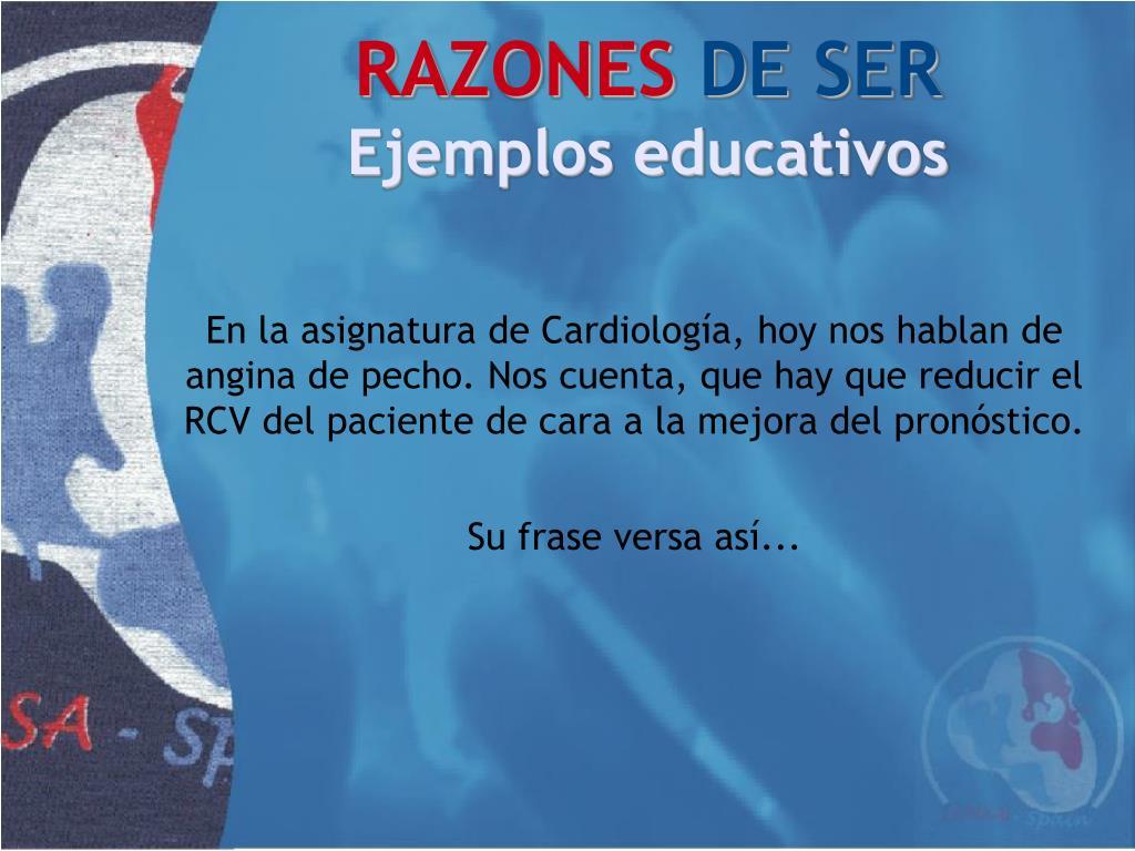 En la asignatura de Cardiología, hoy nos hablan de angina de pecho. Nos cuenta, que hay que reducir el RCV del paciente de cara a la mejora del pronóstico.