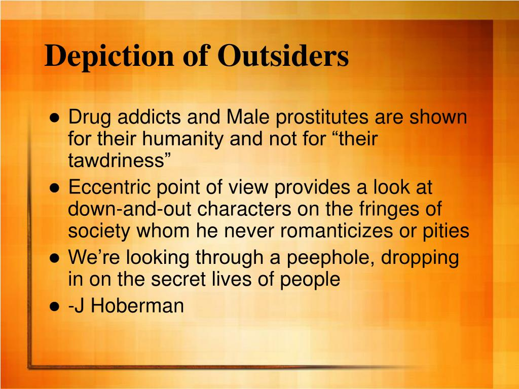 Depiction of Outsiders