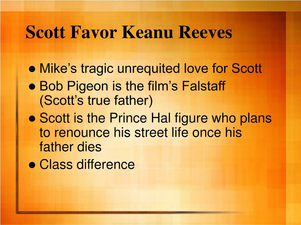 Scott Favor Keanu Reeves