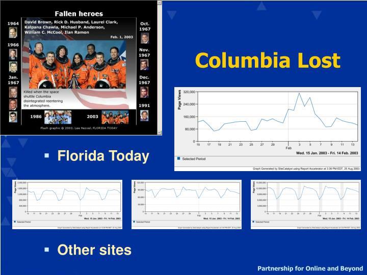 Columbia Lost