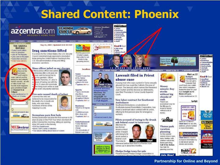Shared Content: Phoenix