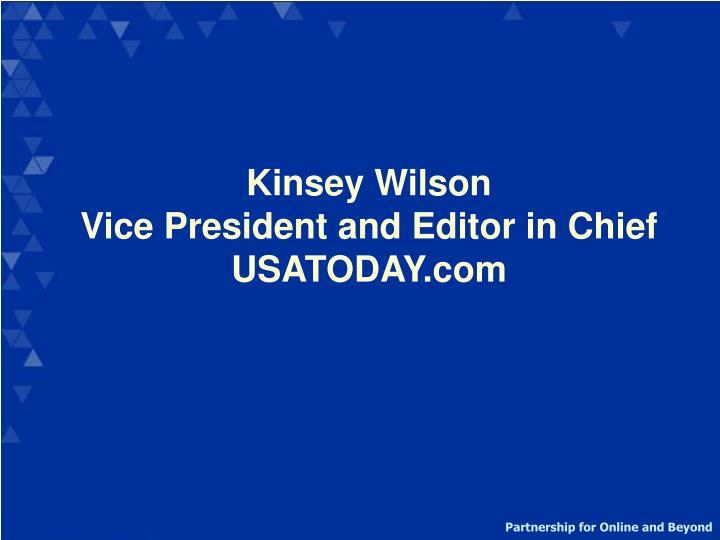 Kinsey Wilson