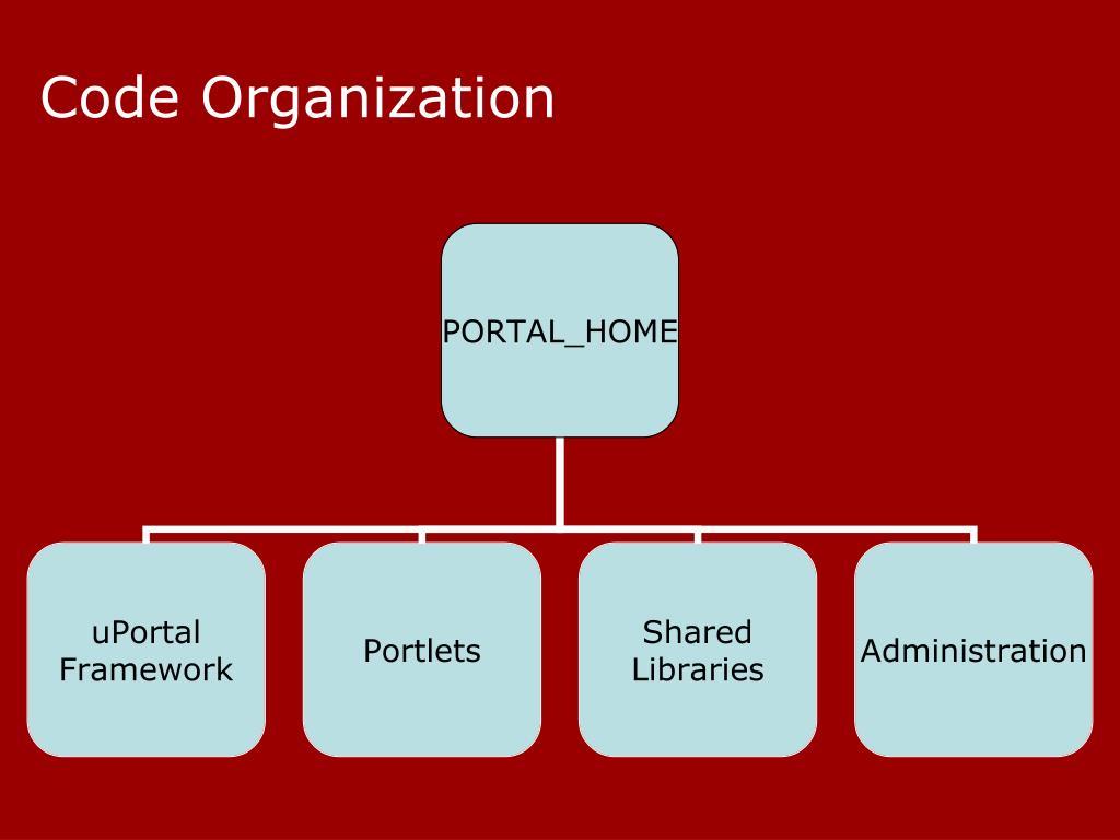 Code Organization