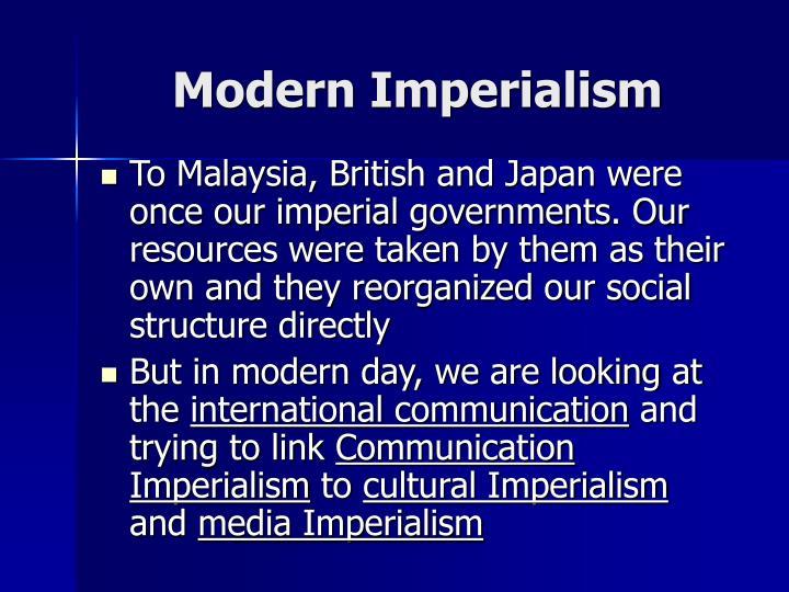 Modern Imperialism