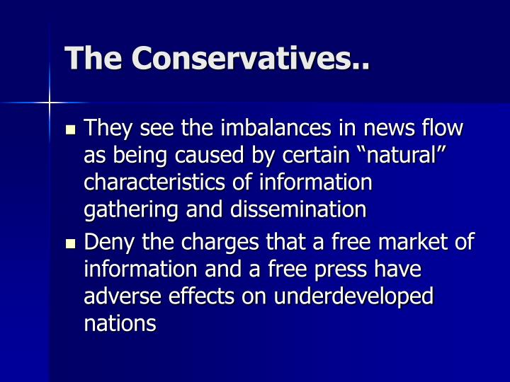 The Conservatives..