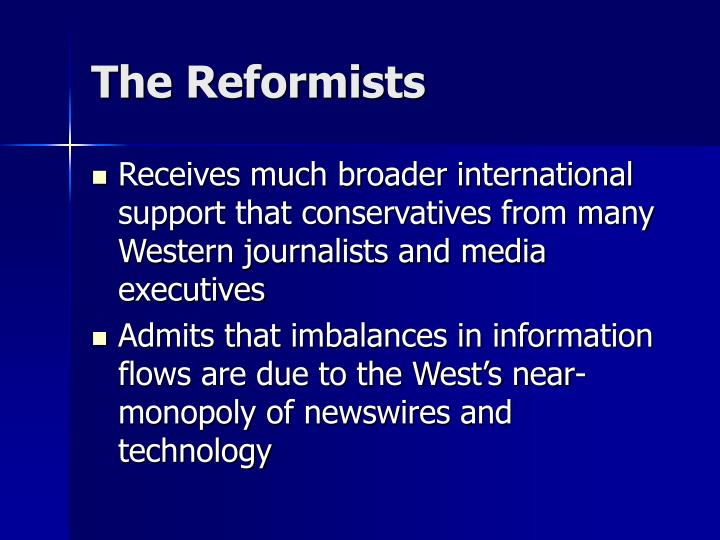 The Reformists